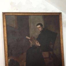 Arte: OLEO/LIENZO - SIGLO XVII - SAN LUIS GONZAGA.. Lote 223919496