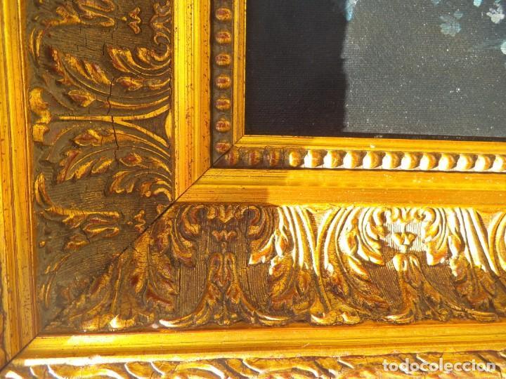 Arte: Pintura oleo sobre lienzo de un bodegón de flores, firmado. 100 x 78 ctms - Foto 4 - 205720852