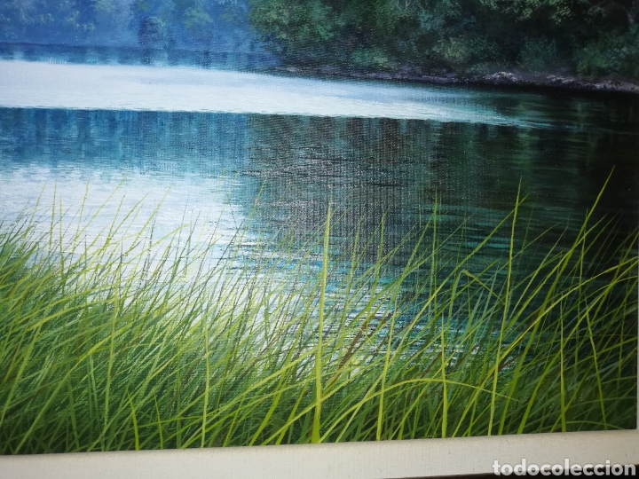 Arte: Oleo del pintor cubano Lorenzo Ruiz...considerado un maestro de paisajes naturales - Foto 3 - 205785000