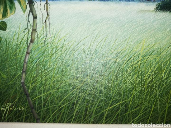 Arte: Oleo del pintor cubano Lorenzo Ruiz...considerado un maestro de paisajes naturales - Foto 4 - 205785000