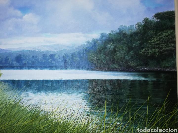 Arte: Oleo del pintor cubano Lorenzo Ruiz...considerado un maestro de paisajes naturales - Foto 6 - 205785000