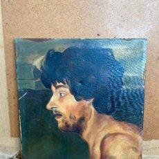 Arte: OLEO FIRMADO JORGE MONLLOR 1943 - FRAGMENTO DE LA FRAGUA DE VULCANO . MURCIA. Lote 205804932