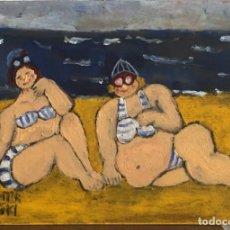 Arte: LOS BAÑISTAS (21). Lote 130036323