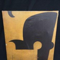 Arte: MONOCROMIA CON TEXTO / EMILIO MACHADO / 2004. Lote 205867075