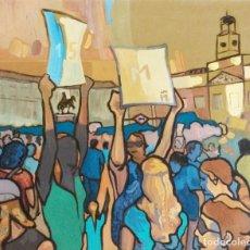 Arte: 15-M PUERTA DE SOL, MADRID. Lote 206130982