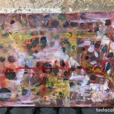 Arte: ANTONIO SANCHEZ CABELLO - OLIO SU TELA - ESFERAS ABSTRACTAS - 70 X 50. Lote 206185081