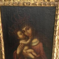 Arte: ESCUELA BARROCA ANDALUZA, SIGLO XVIII: VIRGEN DE BELÉN. Lote 206259156