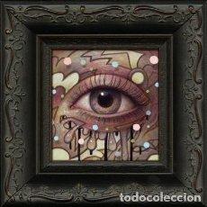 Arte: MINI PINTURA ACRILICA . ARTISTA NAOTO HATTORI. Lote 97752775