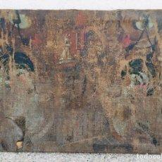 Arte: OLEO SOBRE LIENZO S XVII XVIII BARRIDO DETERIORADO VISTA CIUDAD LIENZO BASTIDOR 60X73CMS. Lote 206457541