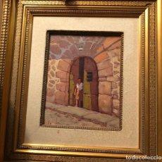 Arte: MIGUEL EGUILUZ (1934) OLEO. Lote 206577593