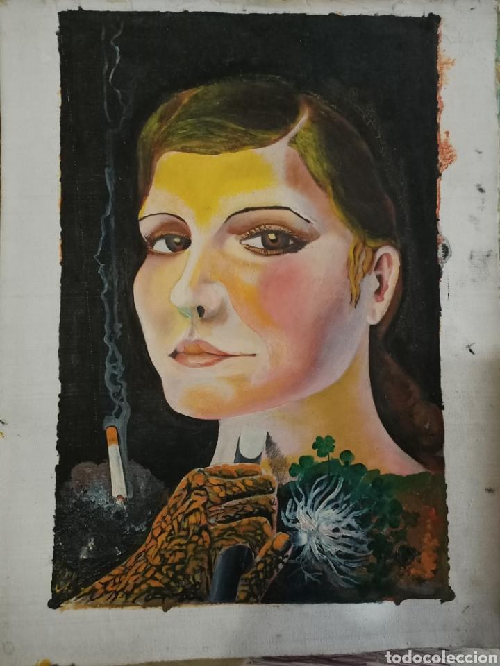 ESPECTACULAR OLEO SIN IDENTIFICAR (Arte - Pintura - Pintura al Óleo Moderna sin fecha definida)