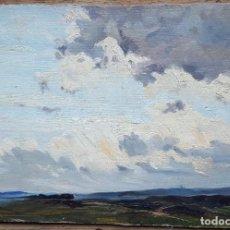 Arte: TOSI ARTURO (1871-1956) PINTOR ITALIANO. OLEO SOBRE TELA PEGADO A CARTÓN.. Lote 207035416