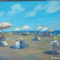 Arte: TOMMASI LUDOVICO (ATTRIB.) (1866-1941) PINTOR ITALIANO. OLEO SOBRE TABLA.. Lote 207036128