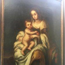 Arte: RUIZ SORIANO, JUAN (HIGUERA DE LA SIERRA, 1701-SEVILLA, 1763):VIRGEN DEL ROSARIO. Lote 207053943