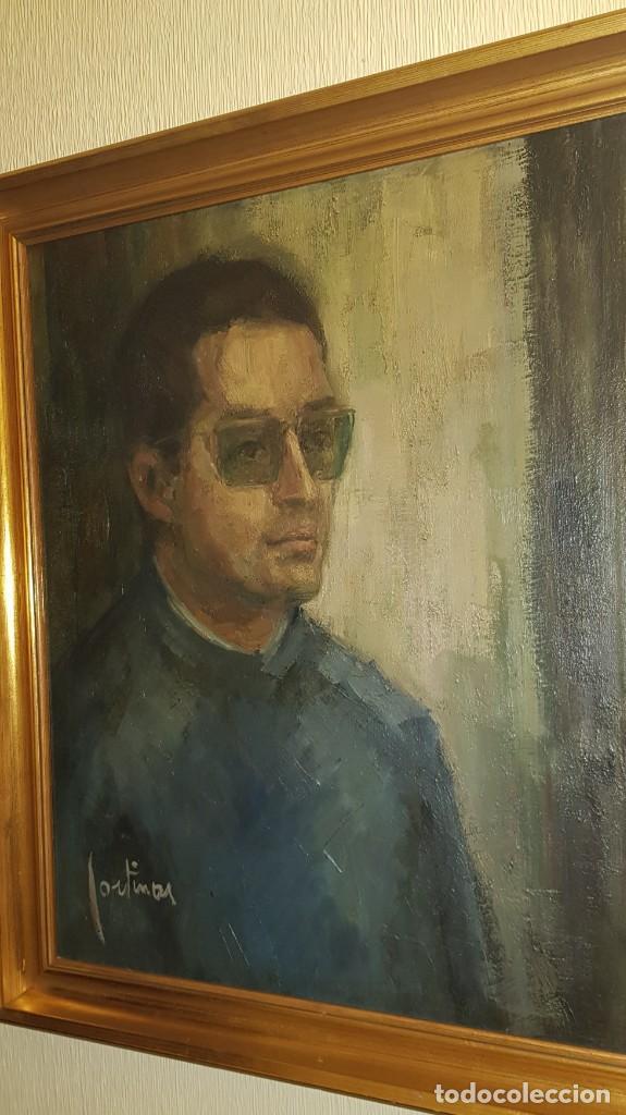 CUADRO RETRARO FIRMADO POR CORTINAS (Arte - Pintura - Pintura al Óleo Contemporánea )