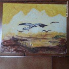 Arte: CUADRO AL OLEO SOBRE TABLEX 35 X 27 CM. Lote 207115120