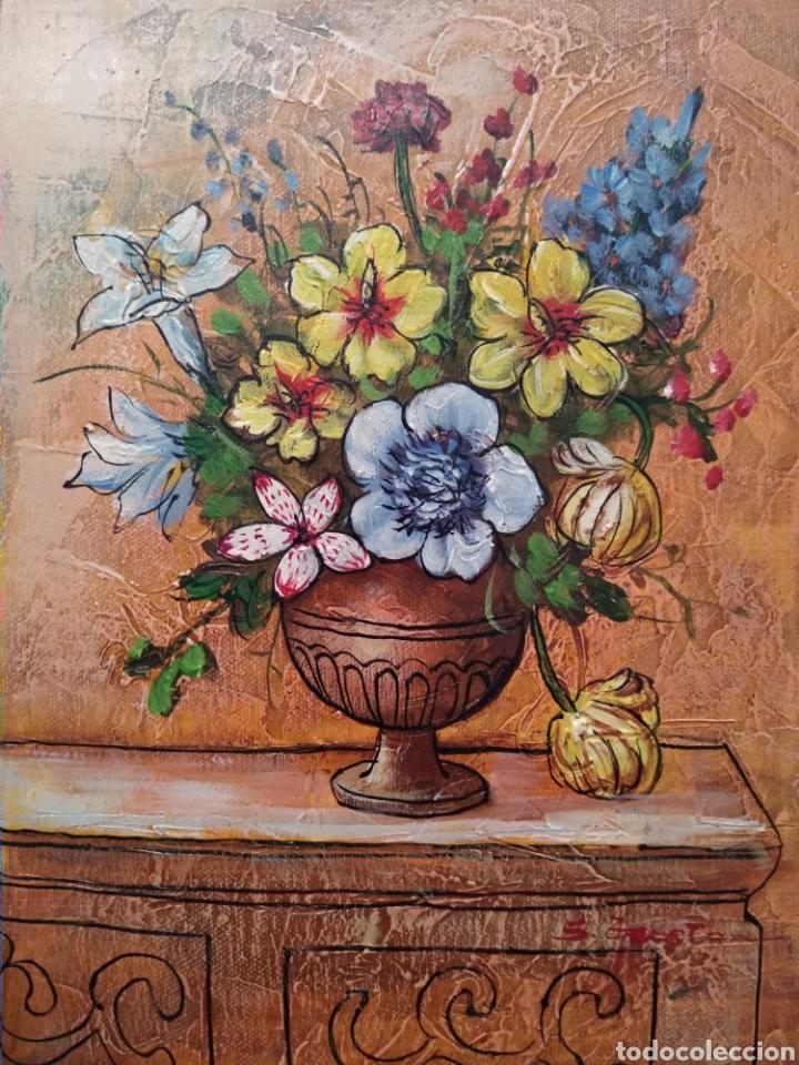 JARRÓN DE BELLAS FLORES (Arte - Pintura - Pintura al Óleo Moderna sin fecha definida)