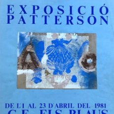 Arte: KEITH PATTERSON (NUEVA ZELANDA 1925 - 1993). Lote 207226601