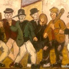 Arte: BANDA MUSICOS FESTA SARDINAS. Lote 207239361