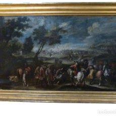 Arte: OLEO DE G. TUCCARI SIGLO XVIII. Lote 207258560