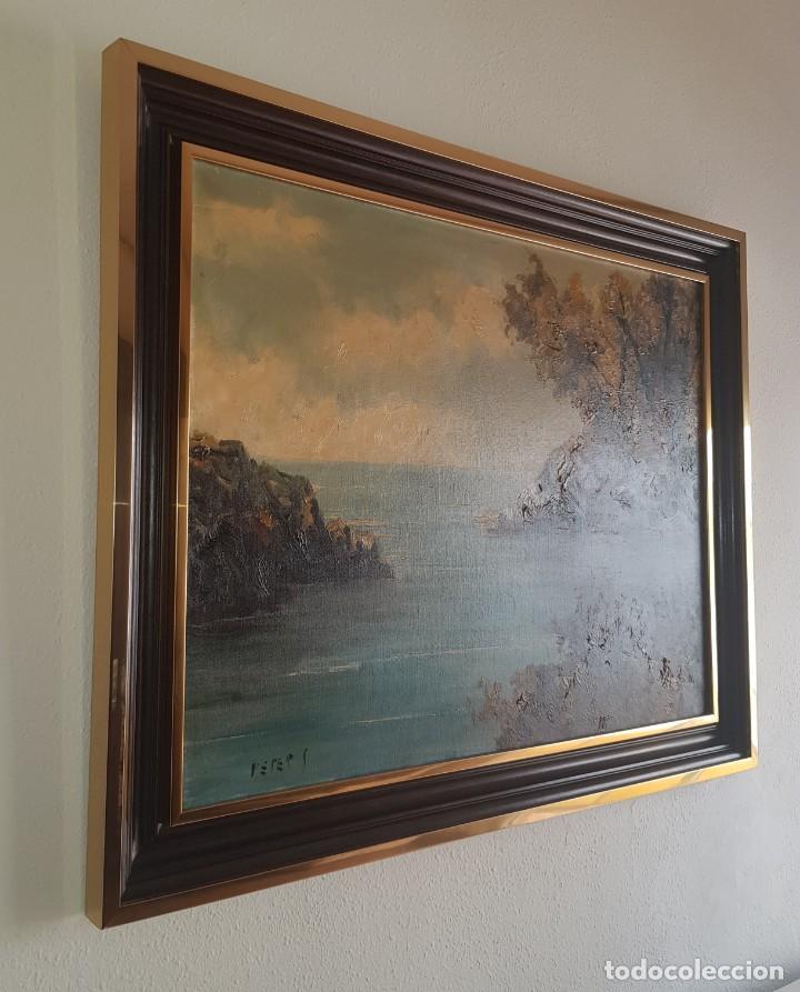Arte: Cuadro paisaje firmado por Peter S - Foto 3 - 207311255
