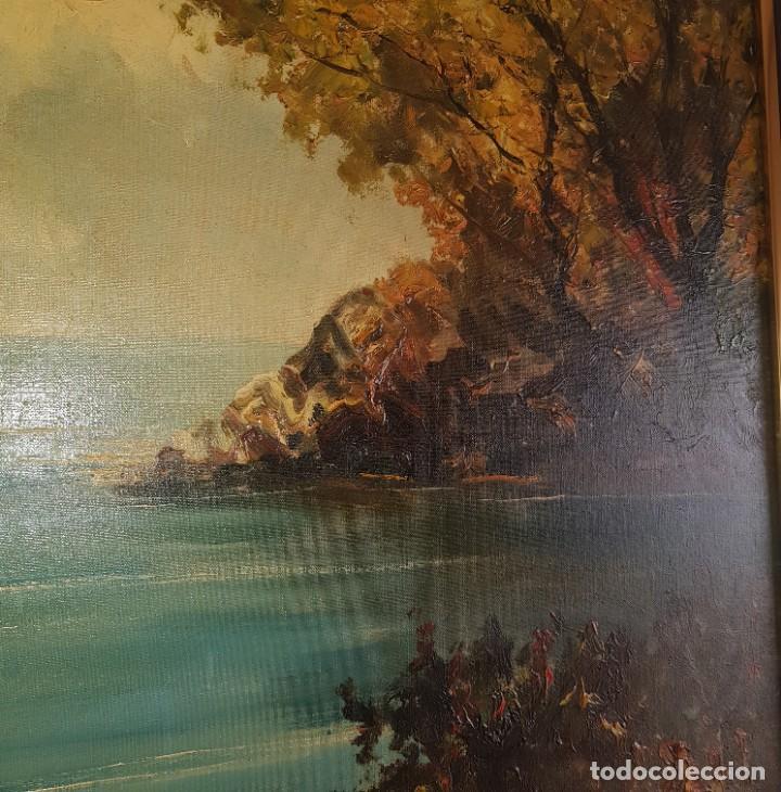 Arte: Cuadro paisaje firmado por Peter S - Foto 4 - 207311255