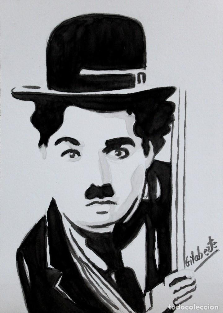 CHARLOT OBRA DE GILABERTE (Arte - Pintura - Pintura al Óleo Contemporánea )