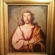 Arte: ÓLEO SOBRE TABLA DE ROBLE-SAN JOSÉ-. CÍRCULO DE GIOVANNI BATTISTA(1696-1770). DIM.- 47.5X40.5 CMS. Lote 207435395