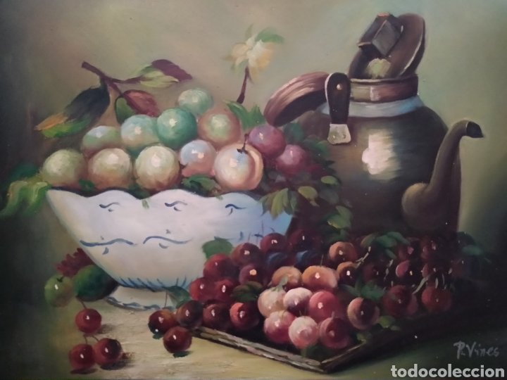BODEGÓN DE FRUTAS (Arte - Pintura - Pintura al Óleo Moderna sin fecha definida)