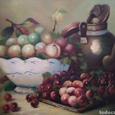 Arte: BODEGÓN DE FRUTAS. Lote 207437555