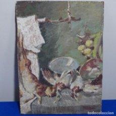 Arte: ÓLEO SOBRE TABLILLA DE SIMO BUSOM.BODEGON.. Lote 207447382