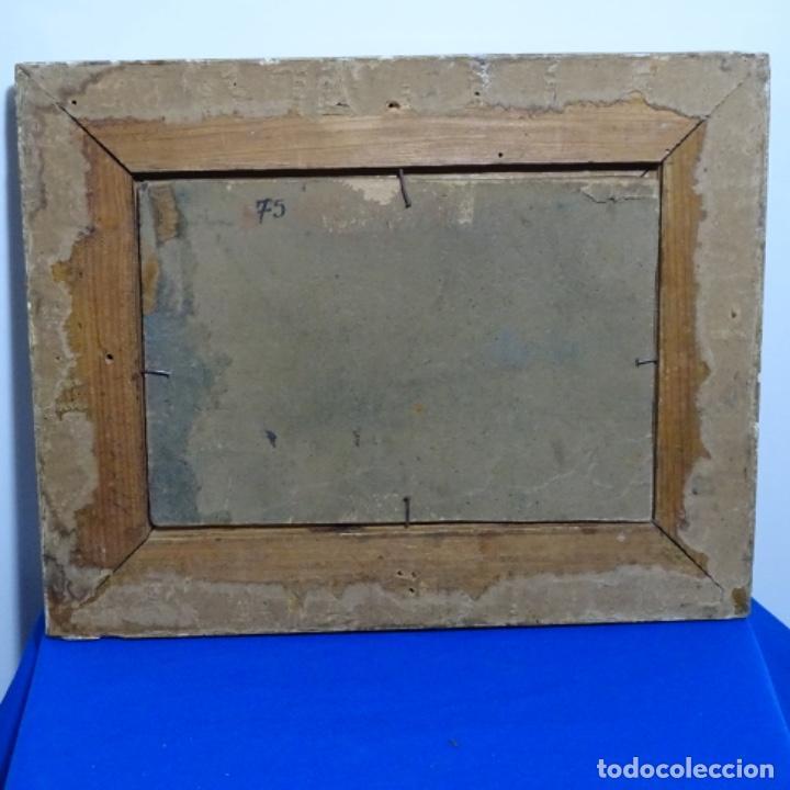 Arte: Óleo sobre tablex anonimo.escuela catalana.circulo Francisco gimeno.buen trazo. - Foto 13 - 207447991