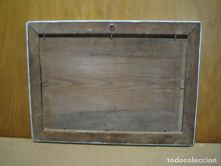 Arte: Pintura Óleo sobre tabla de R. Jimenez de Cordoba - Foto 6 - 207653137