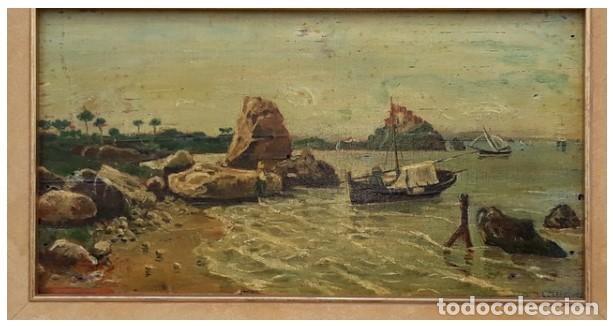 Arte: OLEO MINIATURA SOBRE MADERA SIGLO XVIII. . LUIGI CRESPI (1708-1779).ITALIA....ORIGINAL. - Foto 7 - 207685545