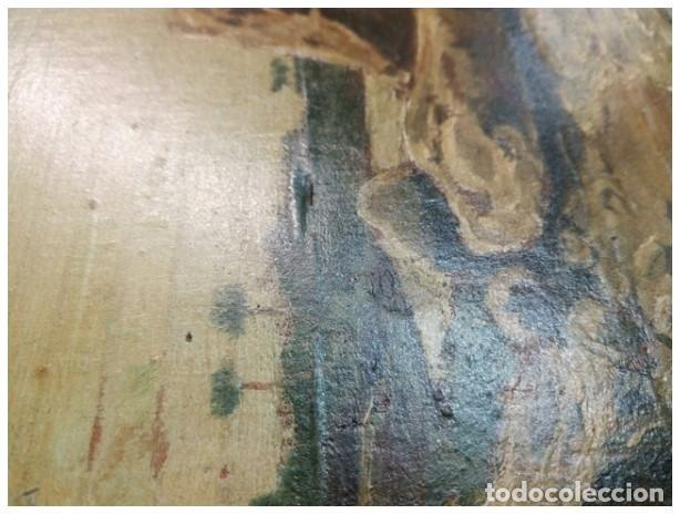 Arte: OLEO MINIATURA SOBRE MADERA SIGLO XVIII. . LUIGI CRESPI (1708-1779).ITALIA....ORIGINAL. - Foto 8 - 207685545