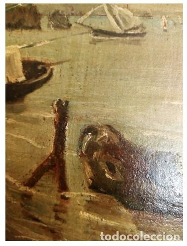 Arte: OLEO MINIATURA SOBRE MADERA SIGLO XVIII. . LUIGI CRESPI (1708-1779).ITALIA....ORIGINAL. - Foto 9 - 207685545