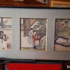 Arte: PINTURAS ERÓTICAS,JAPÓN S.XIX.. Lote 207807205