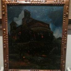 Arte: PROCESIÓN NOCTURNA POR DANIEL SABATER (1888-1951). Lote 207830911