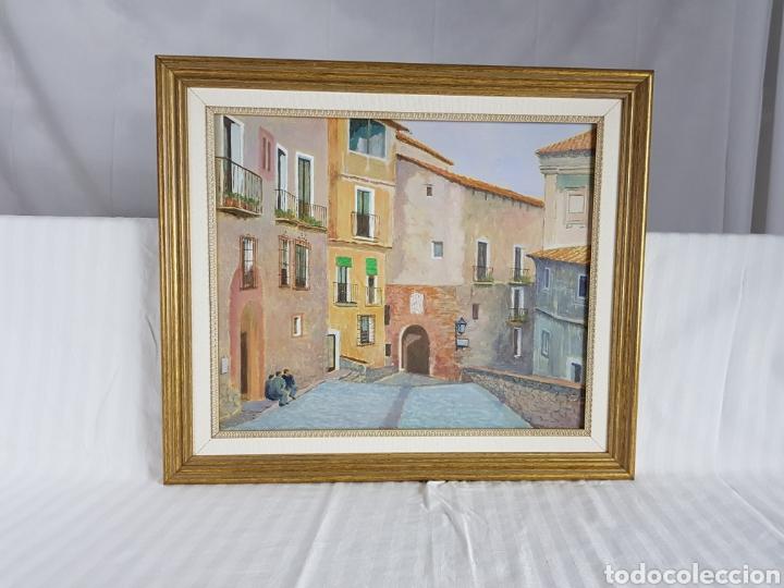 Arte: Pueblo probablemente Granollers por Vicenç Casals Grau (1916-2004) - Foto 4 - 207832828