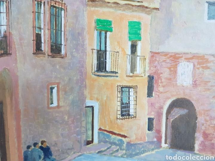 Arte: Pueblo probablemente Granollers por Vicenç Casals Grau (1916-2004) - Foto 6 - 207832828
