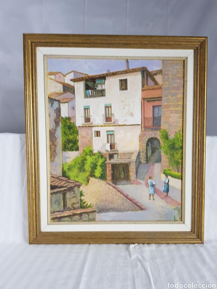 Arte: Pueblo probablemente Granollers por Vicenç Casals Grau (1916-2004) - Foto 3 - 207833061