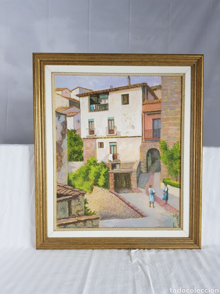 Arte: Pueblo probablemente Granollers por Vicenç Casals Grau (1916-2004) - Foto 4 - 207833061