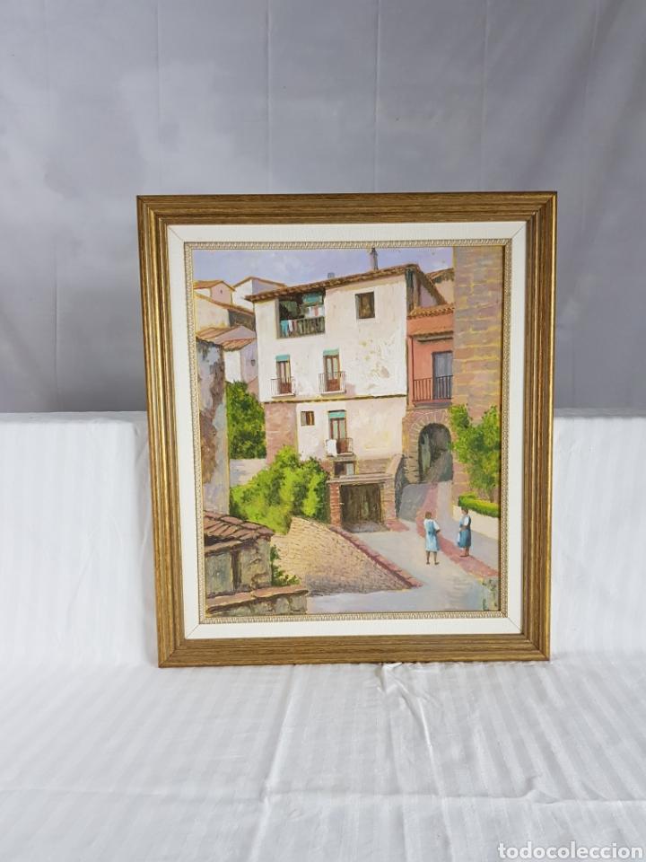 Arte: Pueblo probablemente Granollers por Vicenç Casals Grau (1916-2004) - Foto 5 - 207833061