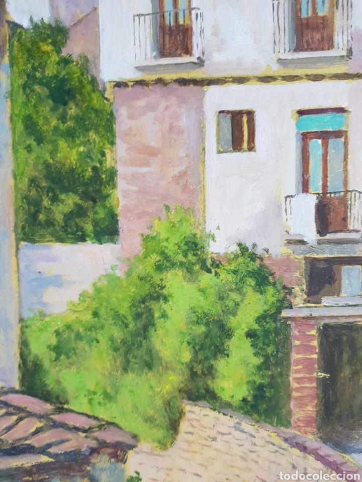 Arte: Pueblo probablemente Granollers por Vicenç Casals Grau (1916-2004) - Foto 9 - 207833061