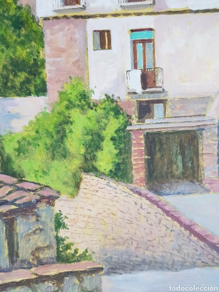 Arte: Pueblo probablemente Granollers por Vicenç Casals Grau (1916-2004) - Foto 10 - 207833061