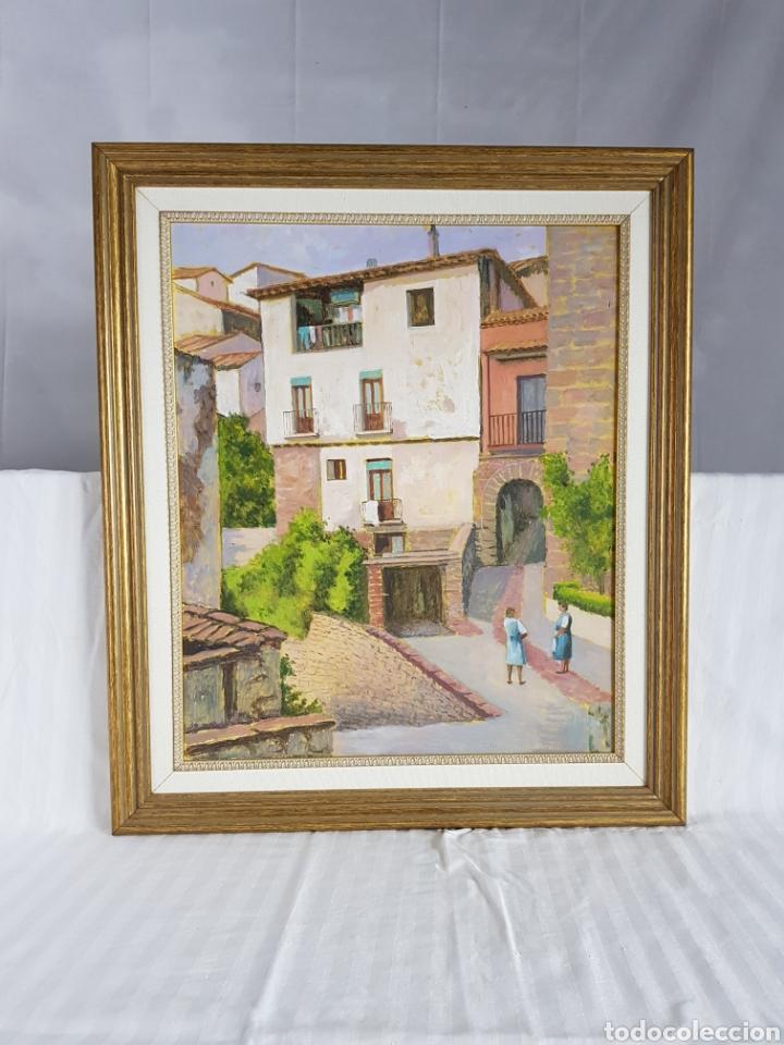 Arte: Pueblo probablemente Granollers por Vicenç Casals Grau (1916-2004) - Foto 12 - 207833061