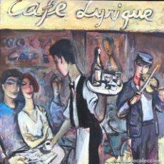 Arte: RAMÓN MOSCARDÓ (1953) - CAFÉ LYRIQUE GINEBRA - ÓLEO LIENZO. Lote 207847985