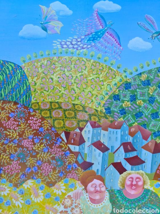 Arte: Elena Narkevich (Minsk 1964), preciosa pintura original firmada. - Foto 2 - 207870885