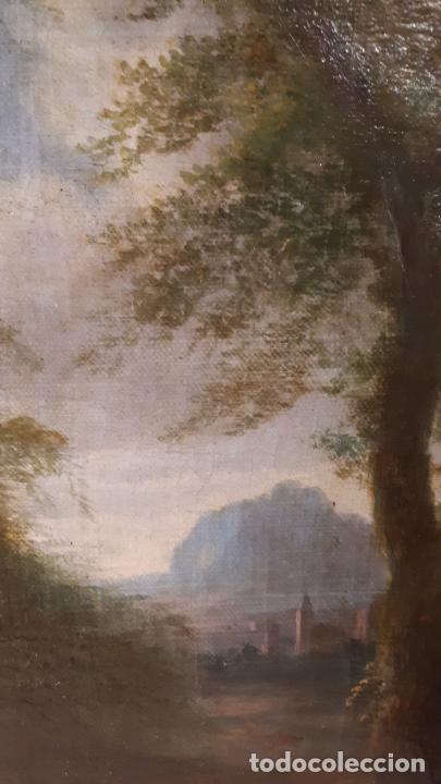 Arte: LA SAMARITANA, ÓLEO, FRANCIA, SIGLO XVIII. - Foto 7 - 207919778