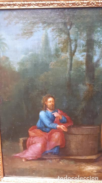 Arte: LA SAMARITANA, ÓLEO, FRANCIA, SIGLO XVIII. - Foto 10 - 207919778